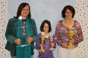 Magdalena Bleicher, Jennifer Rock und Barbara Bleicher