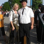 Schützenkönigin Julia Eisenbrückner und Christian Bleicher