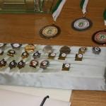 Nadeln, Medaillien und Pokale