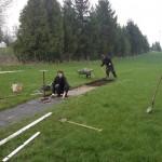 Entstehung Freigelände Bogensport 2013
